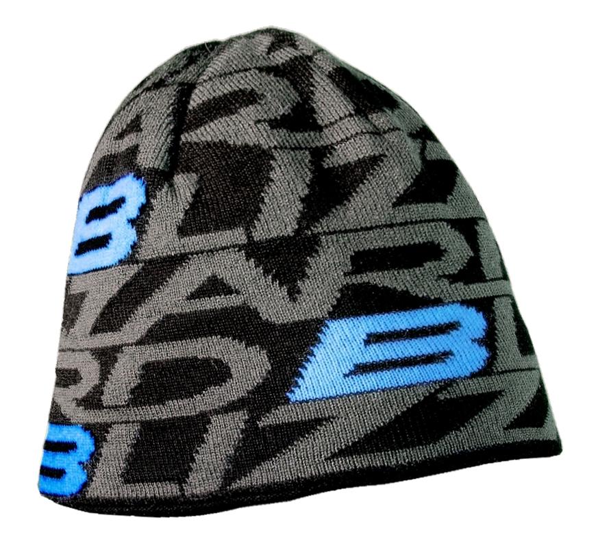 Dragon cap, black/blue
