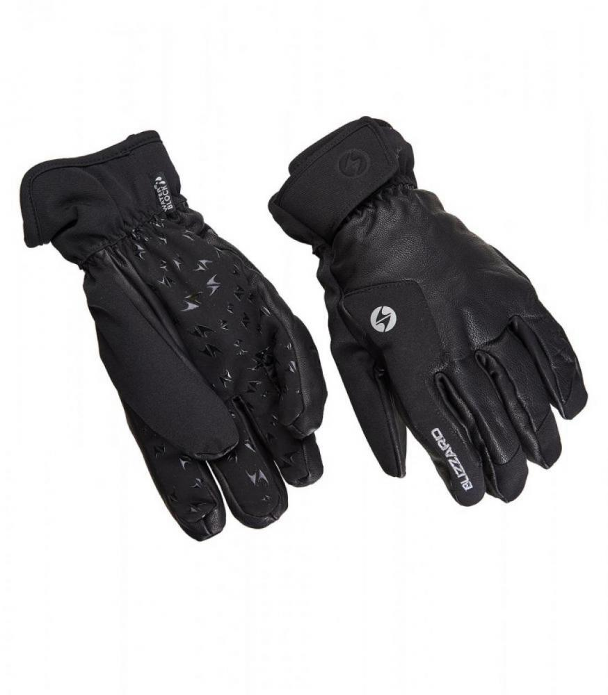 Schnalstal ski gloves, black