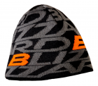 Dragon cap, black/orange