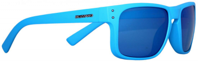 c8b481f61 Blizzard sun glasses POL606-003 rubber blue, gun decor points, 65-17-135,  AKCE